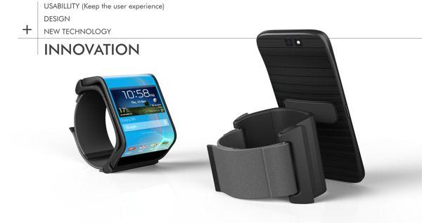 """LIMBO - O conceito de """"Smart Relógios"""" nunca foi tão explorado quanto está sendo agora e mesmo que hajam um grande número de projetos por aí, nada nos impede de pensar """"Sim....mas ainda precisa de um telefone!"""". O Limbo, no entanto, é um pouco diferente. Parece que o designer Jeabyun Yeon descobriu o elo perdido entre a nossa transição de smartphones portáteis para """"Smart Relógios"""". A idéia é que possamos ser capazes de fundir os benefícios de ambos os aparelhos!"""