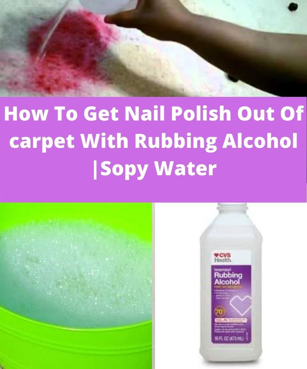 Pin On How To Get Nail Polish Out Of Carpet