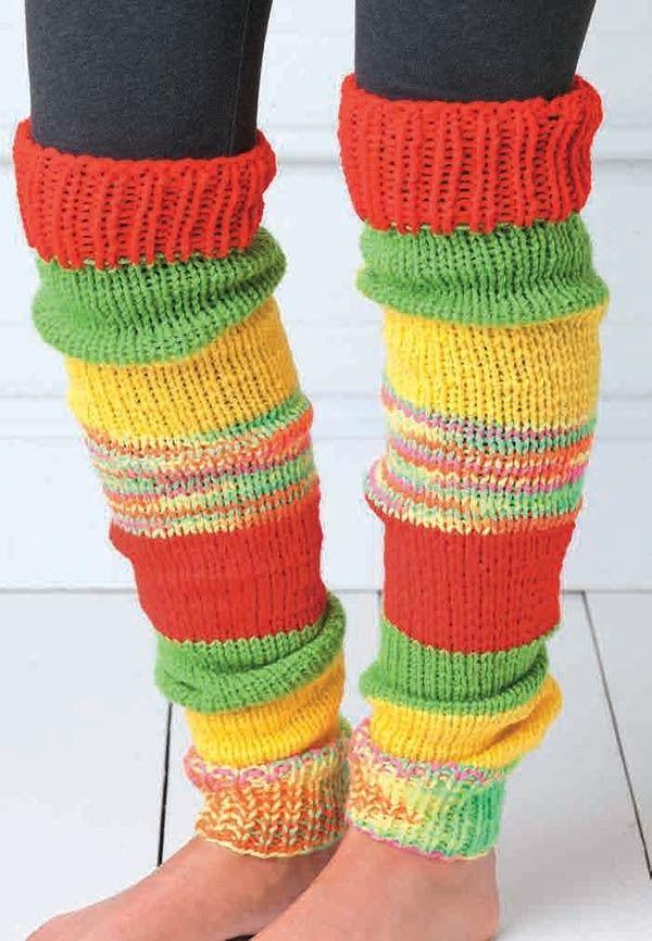 Beginner-Friendly Knitting in 2020   Knit leg warmers, Leg ...