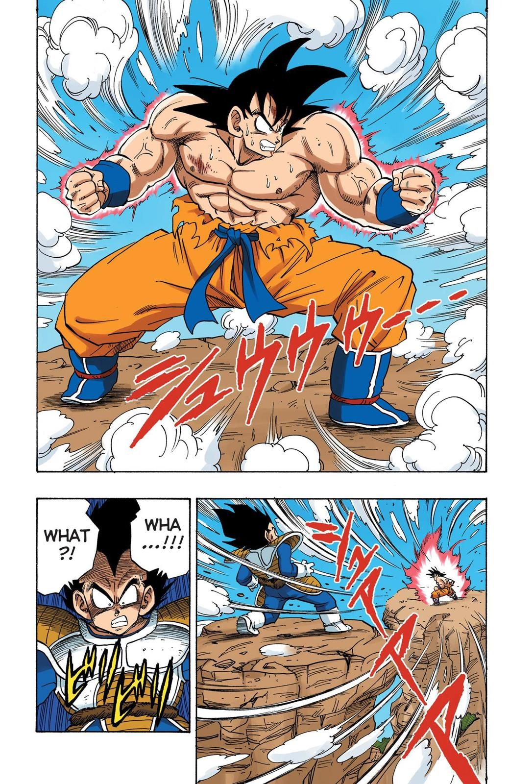 Read Dragon Ball Full Color Saiyan Arc Chapter 34 Page 2 Online