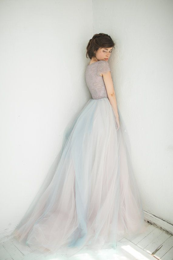 Sample sale// Tulle wedding gown Lavanda , Only one EU38 size (Last ...