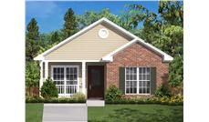This Is A Computer Rendering Of These Small House Plans House - Assam type house cost