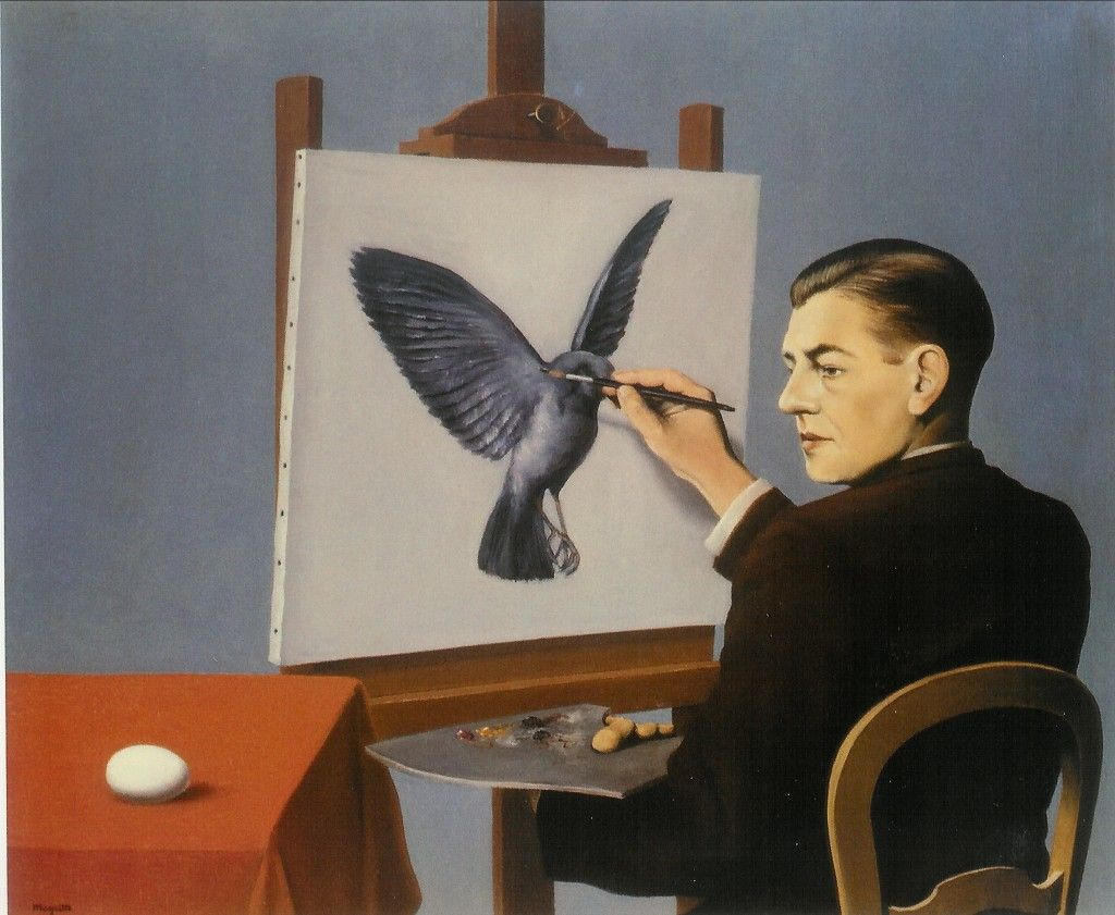 Clairvoyance - Magritte