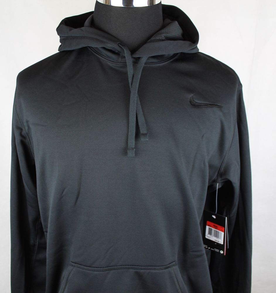 7e8a6caa NIKE KO Hoodie 2.0 Therma-Fit Mens Pullover Black 100% Polyester Jacket sz  Large #Nike #BasicJacket