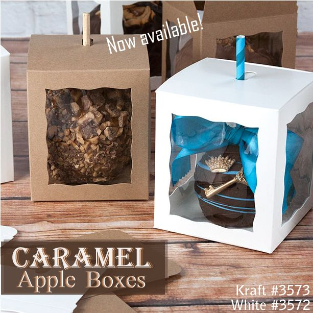 Caramel Apple Boxes available at BRP Box Shop