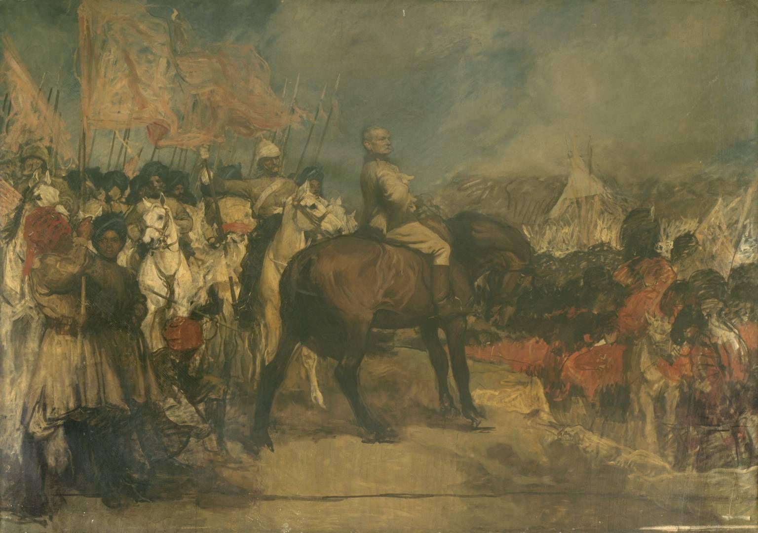 'Field-Marshal Earl Roberts, KG, VC, OM', Charles Wellington Furse | Tate
