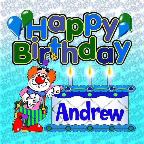 Happy Birthday Andrew By The