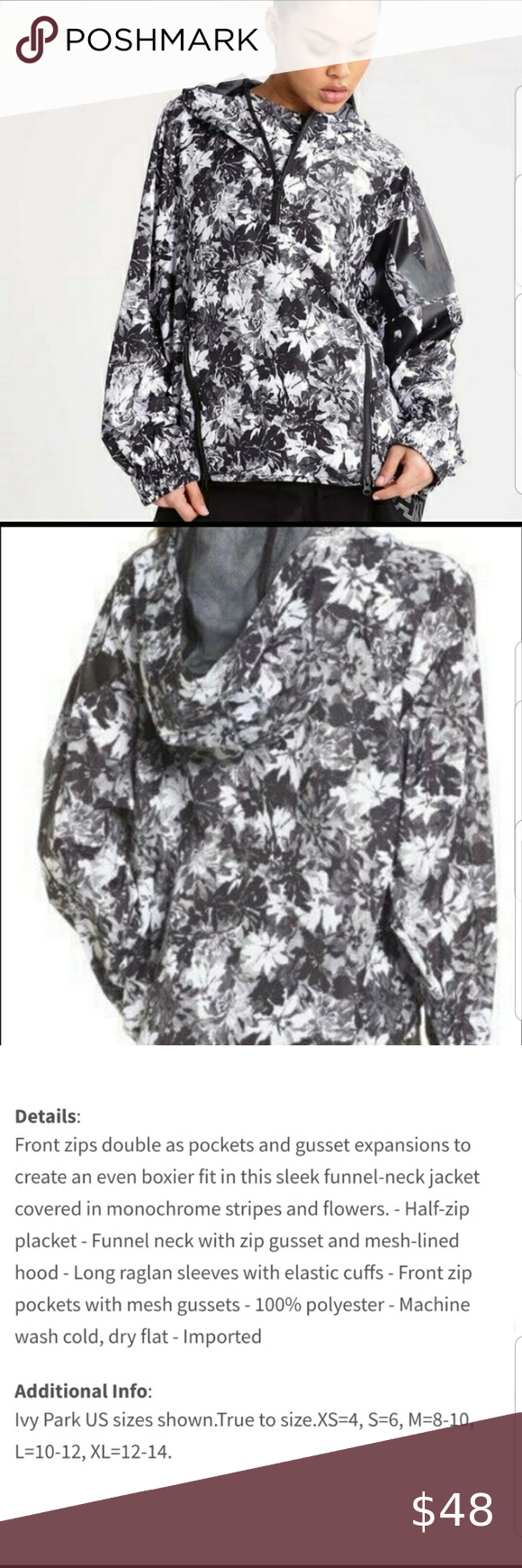 Ivy Park Floral Story Windbreaker In 2020 Clothes Design Fashion Design Fashion Tips