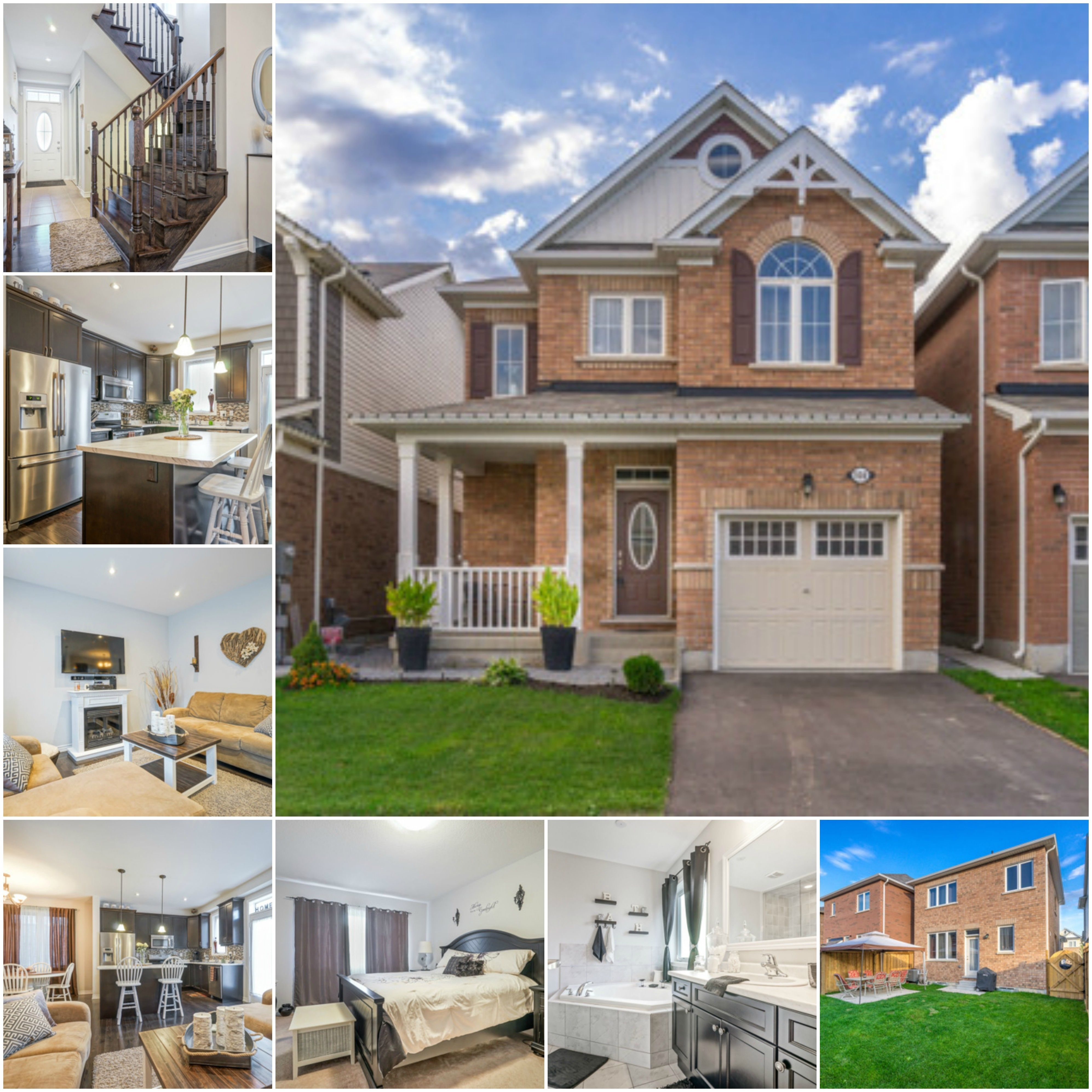 New Listing Book Your Showing Today 3 Br 3 Wr House Located In Brampton 649 900 Mls W3617733 Houseforsale Hotproperty Realty Real Estate House Styles
