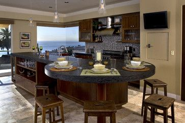 Cuisines Kitchen Island Dining Table Kitchen Island Remodel Ideas Granite Dining Table