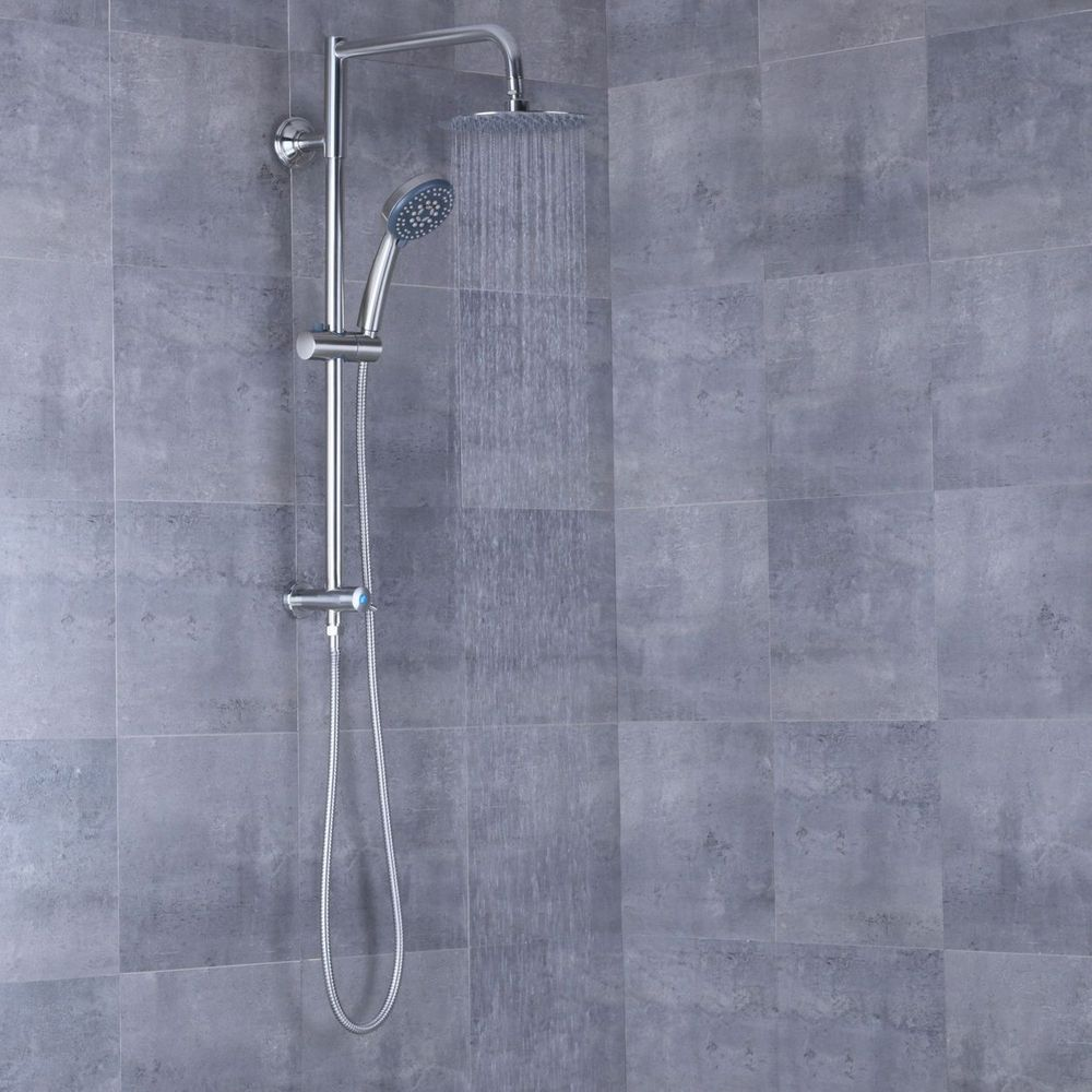 Afa Stainless 8 Rain Shower Head And Hand Shower Combo Rain Shower Head Shower Heads Shower Remodel