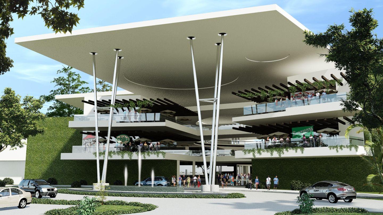 Nombres de centros comerciales en exteriores buscar con for Fachadas de restaurantes modernos