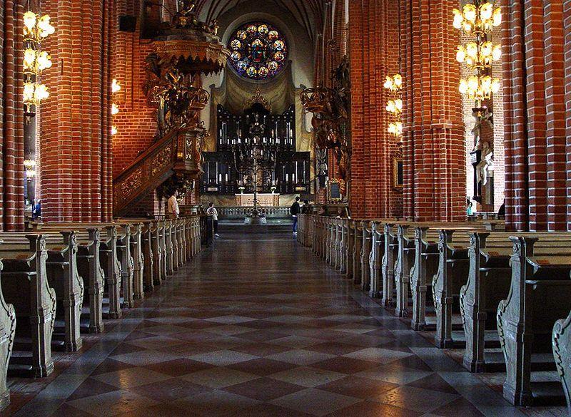 Storkyrkan in Stockholm, Schweden.