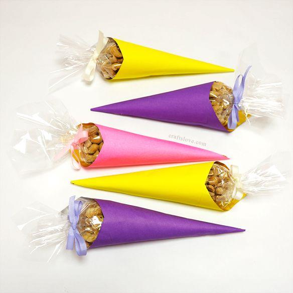 Nuts Cones For Eid Table طريقة لتقديم المكسرات في العيد بطريقة جذابة Eid Mubarak Happy Eid عيد مبارك Eid Gifts Eid Crafts Eid Party