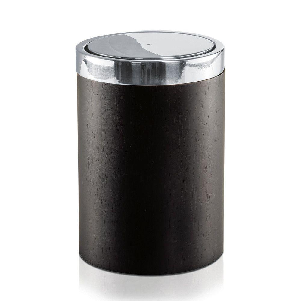 discover the moeve combo dark wood waste bin at amara | bathrooms