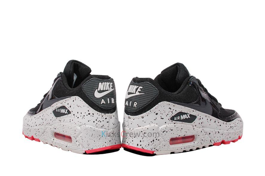 Nike Wmns Air Max Señorita 90 Base Negra Gris Señorita Max Alisa Zapatos Pinterest 7ecf25