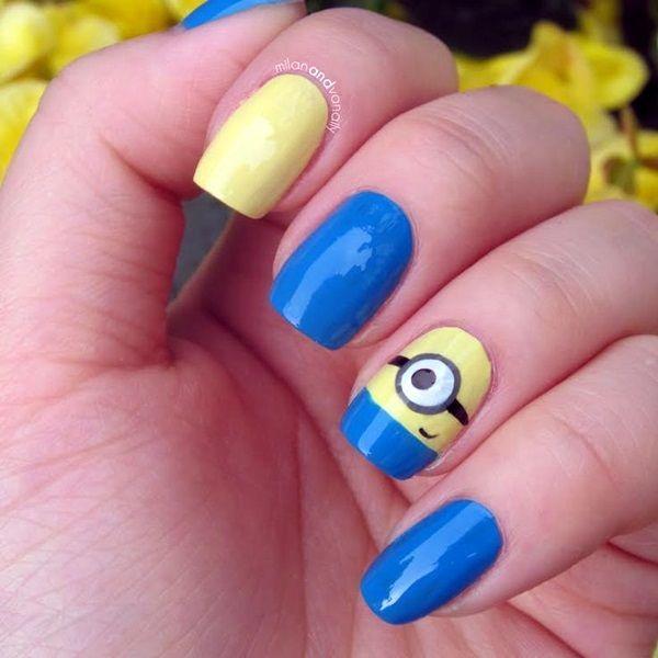37 Super Easy Nail Design Ideas for Short Nails - 37 Super Easy Nail Design Ideas For Short Nails Nails Pinterest