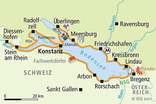 Lake Constance Map Google Search Radtour Bodensee Bodensee