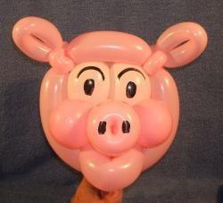 풍선하하 balloonhaha ㅡ 원본 사진 ㅡ 큰 사진은 이메일로 보내드립니다 ㅡ : 교육용 086 돼지