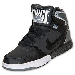 timeless design f8dc8 7eaa2 Mens Nike Mach Force Mid Casual Shoes - GreyBlack