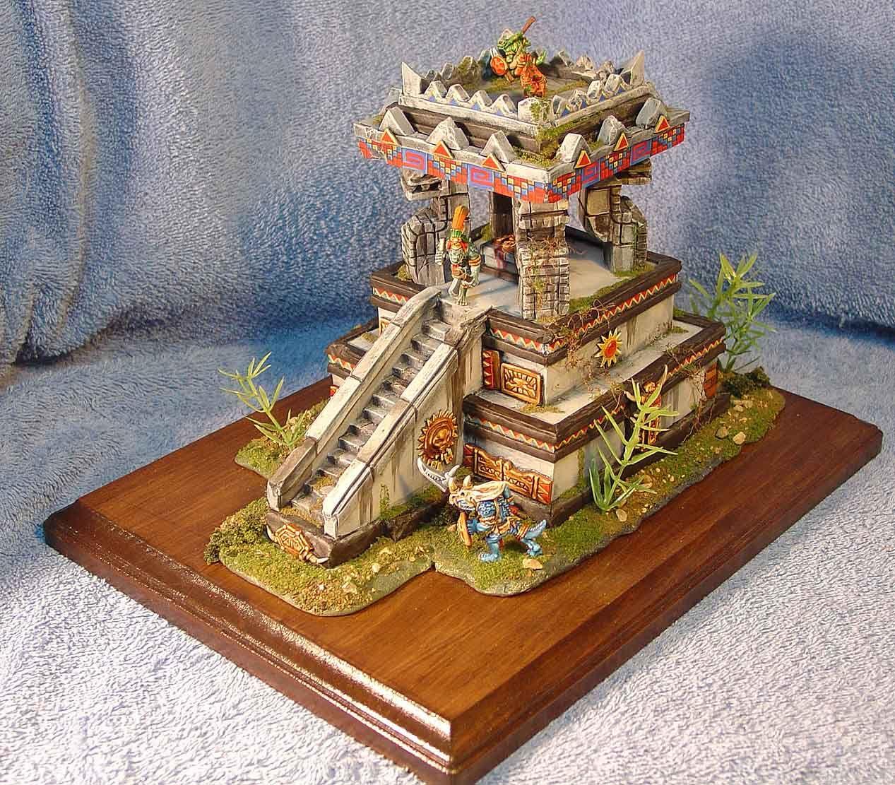 Pinterest Jungle Buildings: Miniatures - Buildings