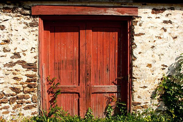 The Red Mill Door Doors Old Door Red Mill