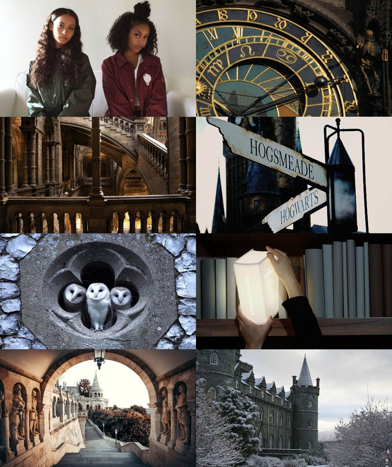 wizarding schools around the world // Hogwarts 2/2: There is also an owlery, which houses all the owls owned by the school and those owned by students. The three highest towers are the Astronomy Tower, the Ravenclaw Tower, and the Gryffindor Tower. There are 142 staircases, which are known to move, in the massive castle, which is set upon huge rocks above a magnificent lake.
