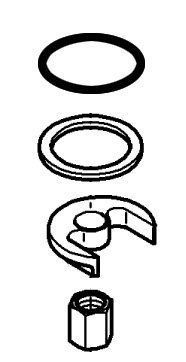 Grohe 46 346 Mounting Kit for Grohe Faucets