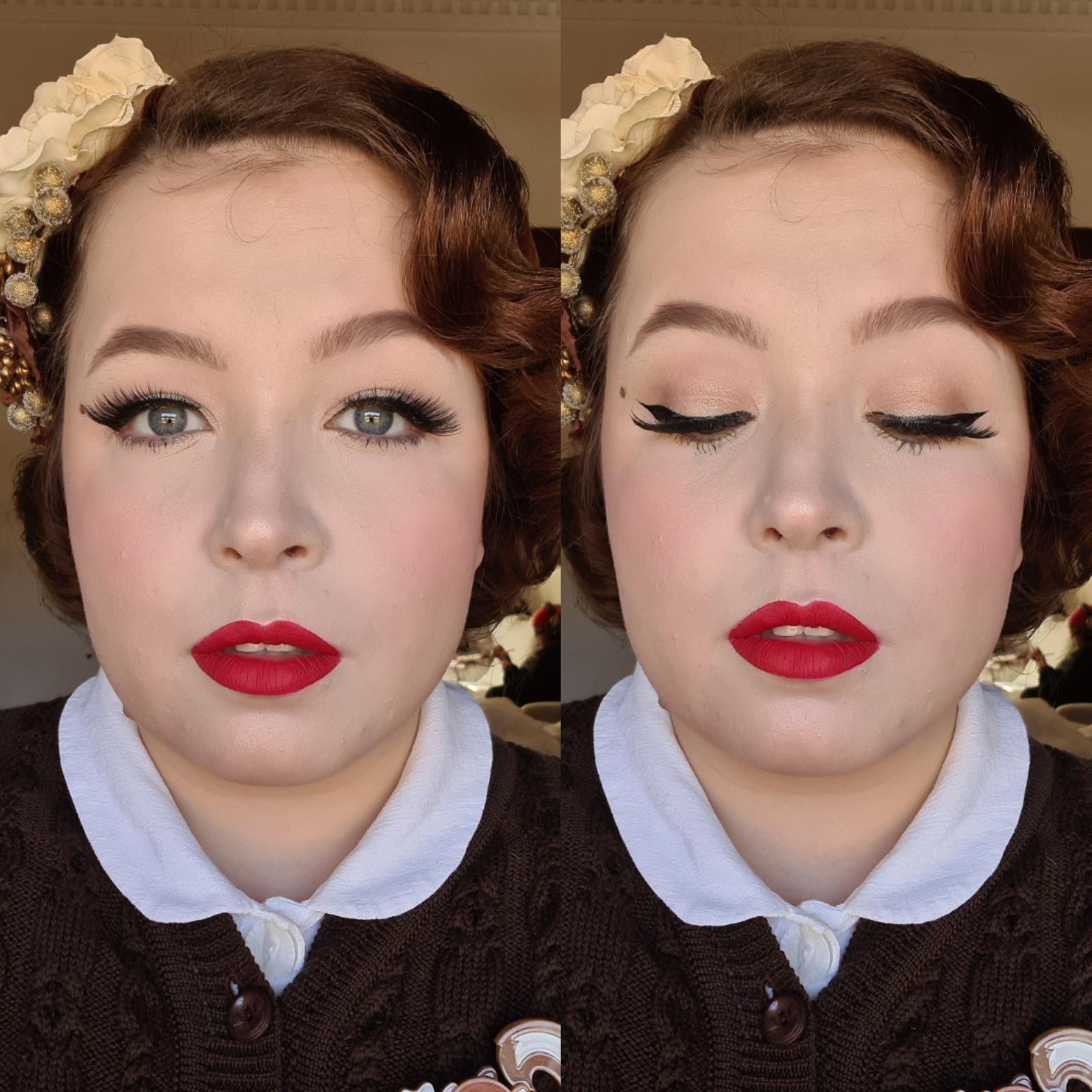 Dita Von Teese inspired Makeup- CCW! #makeup #beauty