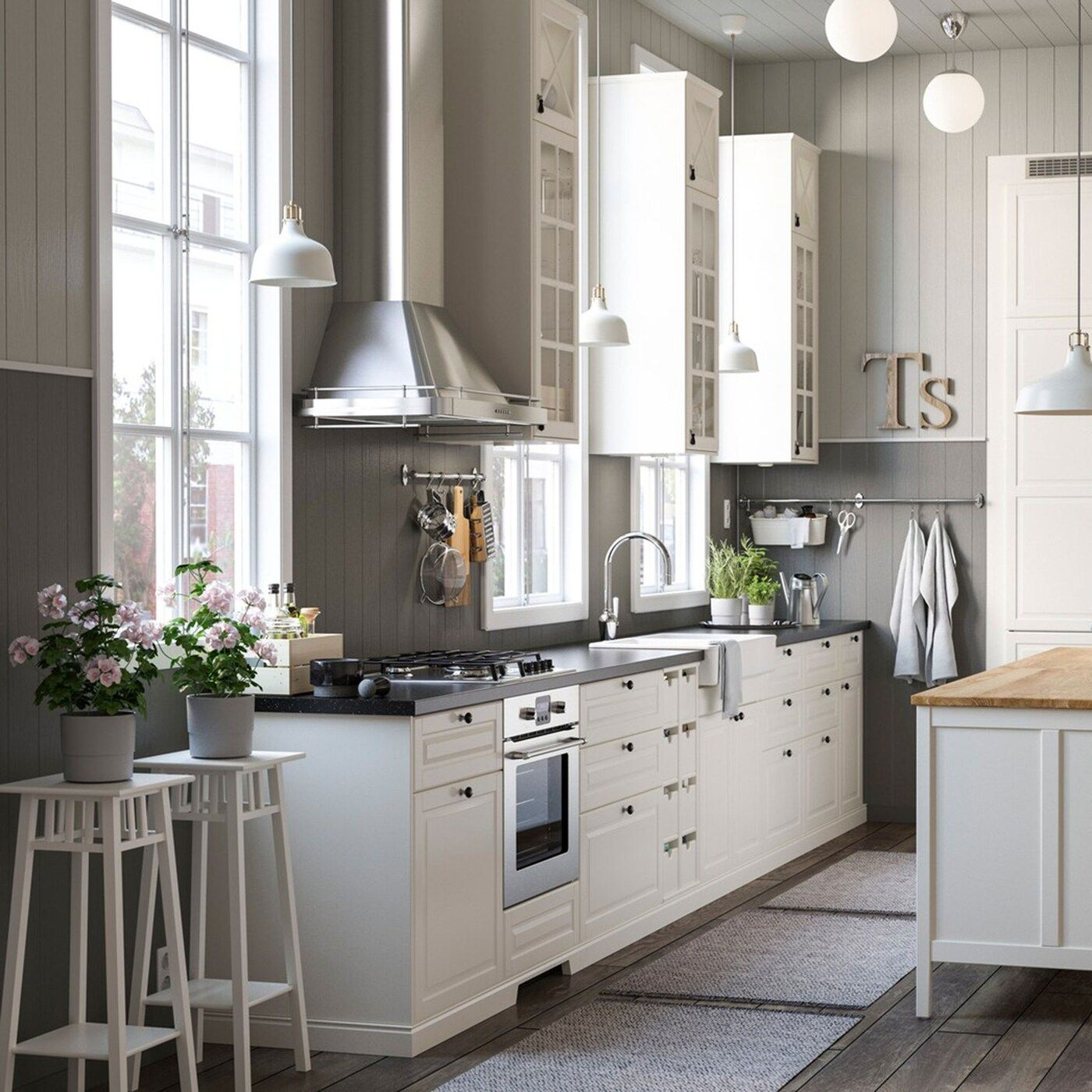 Countryside kitchen in the city in 2020 Freestanding