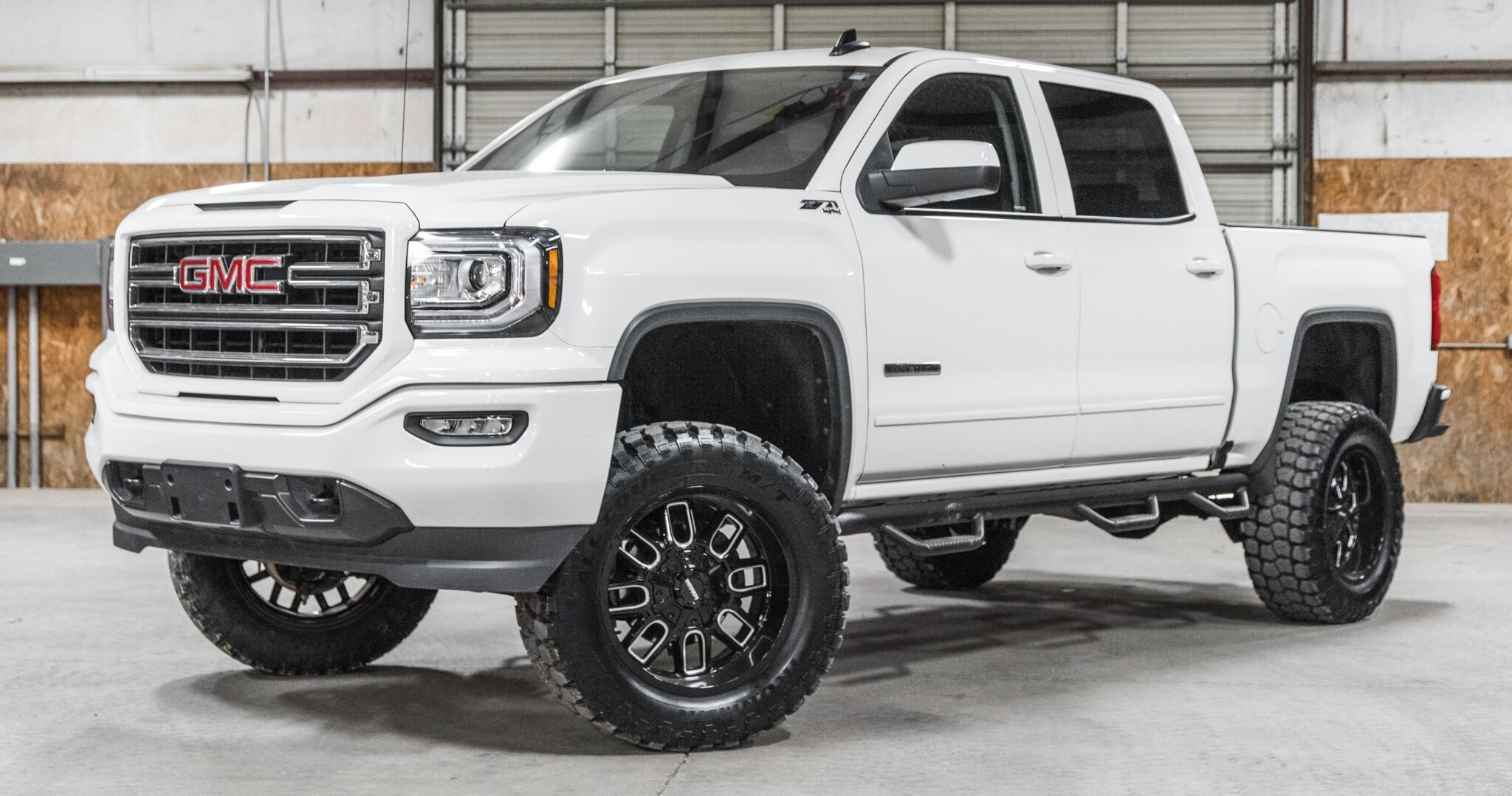 Sold Stock 8507 Lifted 2018 Gmc Sierra 1500 4x4 Crew Cab Sle Z71