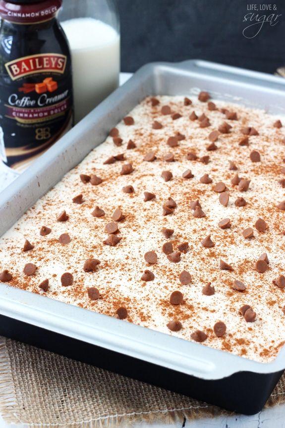 Cinnamon Roll Poke Cake | Moist & Delicious Cinnamon Cake Recipe