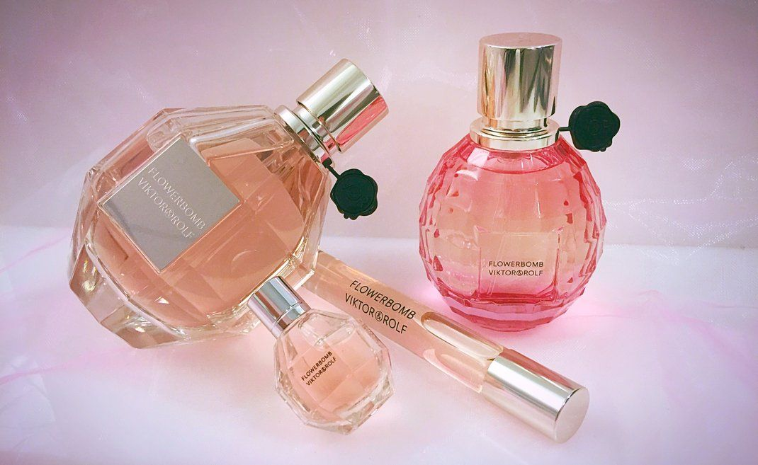 Shades of pink brought to you by Viktor & Rolf. #Sephora #Fragrance
