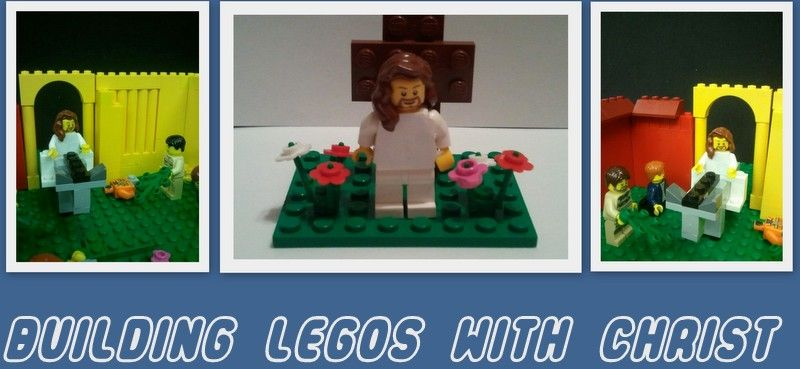 Building Legos with Christ site for kids to enjoy Lego