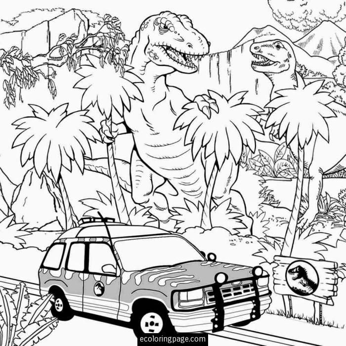 Pin by - TwoNeugies - on Coloring Sheets | Coloring pages, Jurassic ...