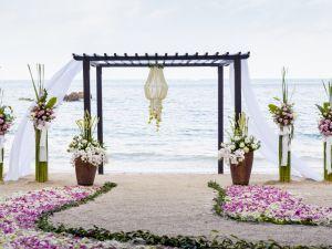 Arreglos Florales En La Playa Para Una Boda Arregló Floral