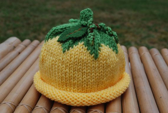 An adorable baby hat hand knitted with hypoallergenic acrylic yarn. Sizes available for newborns, 6-18 months and 1-3 years.