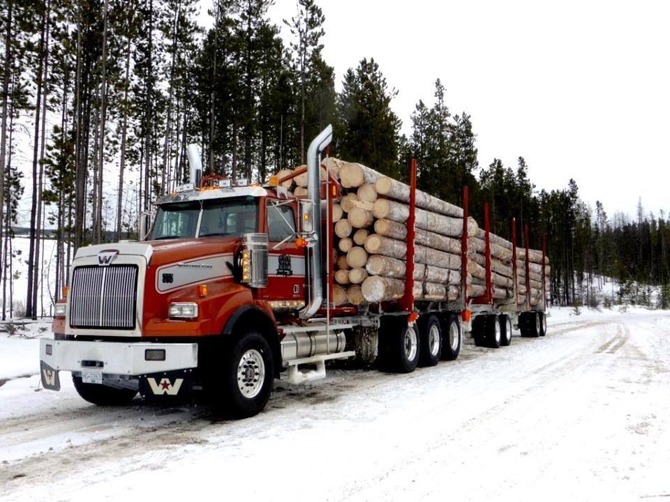 Pin By Merle Simpson On Logger Equipment Western Star Trucks Trucks Big Rig Trucks