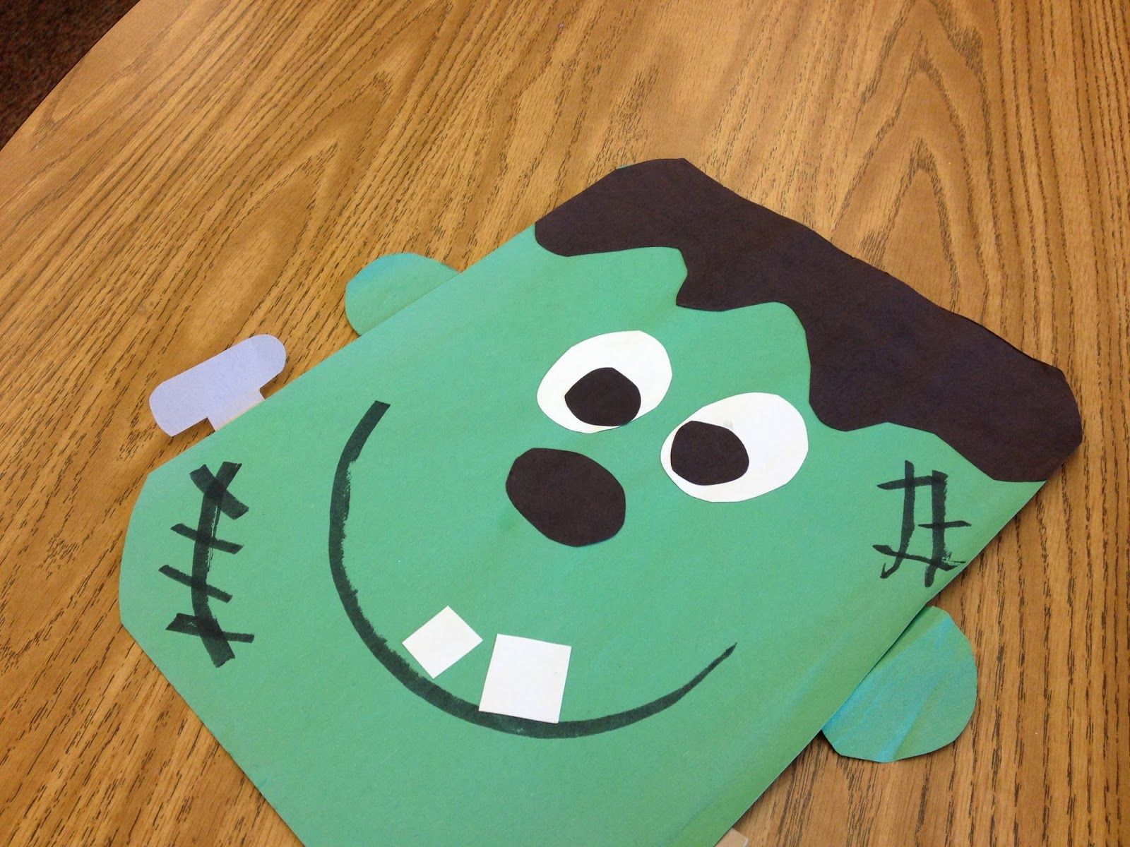 Halloween classroom crafts - Classroom Freebies Too Frankenstein Craft
