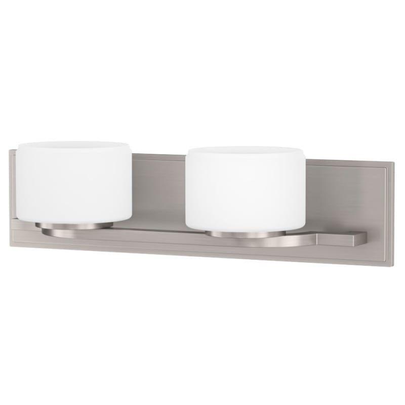 Photo of Miseno ML4755VL Napa 2 Light 19″ Wide Bathroom Vanity Light Brushed Nickel Indoor Lighting Bathroom Fixtures Vanity Light