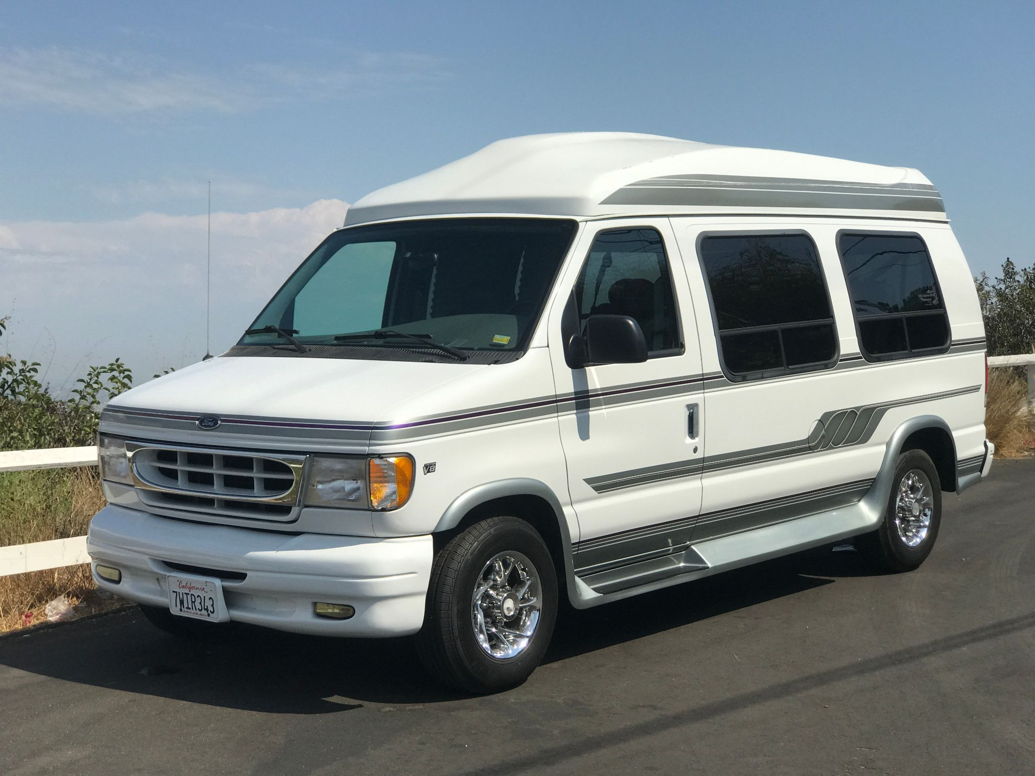 14k Mile 1999 Ford Econoline Waldoch Conversion Van With Images