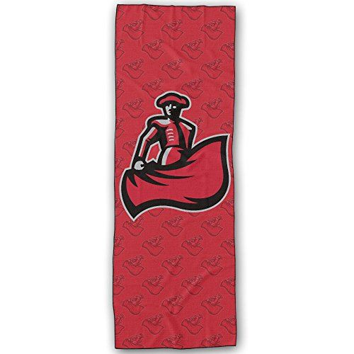 Cal State Northridge Matadors Logo Yoga Mat Towel Check Out The Image By Visiting The Link This Is An Amazon Aff With Images Yoga Mat Towel Logo Yoga Yoga Accessories