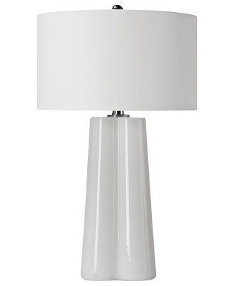 Regina andrew folded glass table lamp table lamps macys