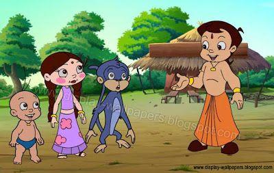 chota bheem cartoon art