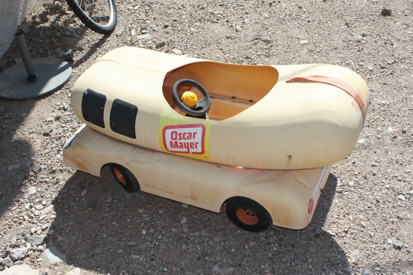 Antique Oscar Mayer Wienermobile Pedal Car Vintage Kiddie car Very ...