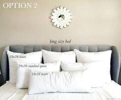 Image Result For Pillow Arrangements For Super King Beds Bedroom Pillows Arrangement