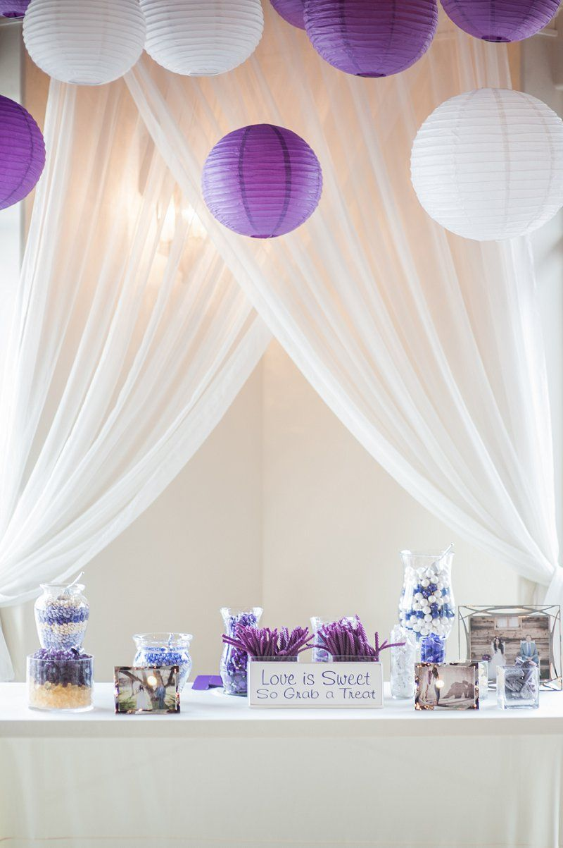 Candy table at reception photographer alloveweddings
