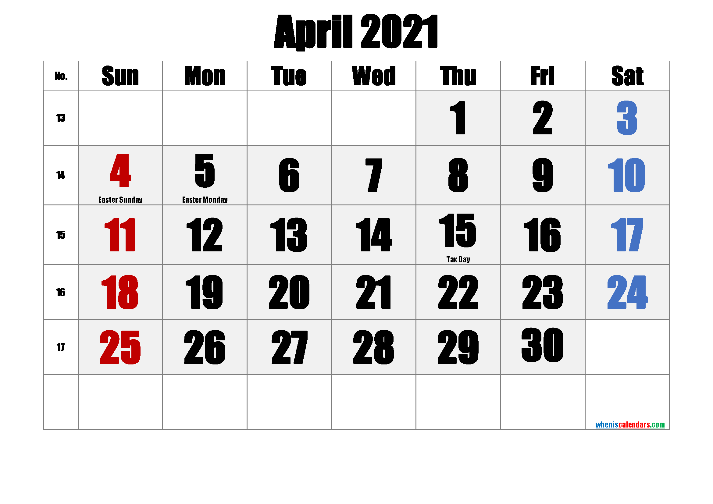 Free Printable April 2021 Calendar In 2020 Calendar Printables June Calendar Printable Printable Calendar Template