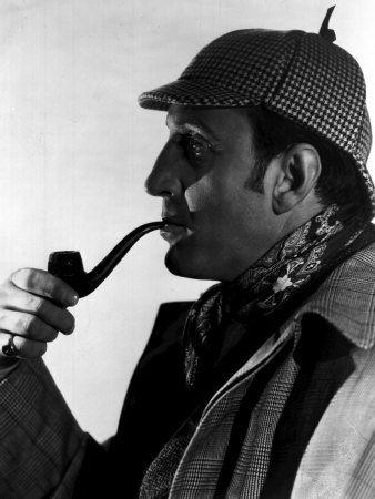 Hound of the Baskervilles Basil Rathbone as Sherlock Holmes, 1939 Photo