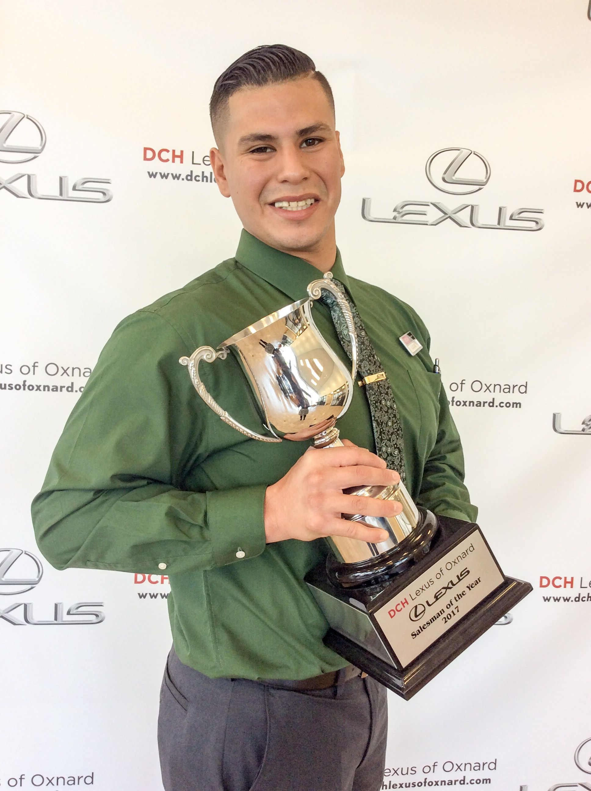 Meet The Dch Lexus Of Oxnard Team October S Salesman Of The Month Is Lucas Vega Thanks Lucas For Your Remarkable Work Ethic Oxnard Lexus Remarkable Salesman of the month award